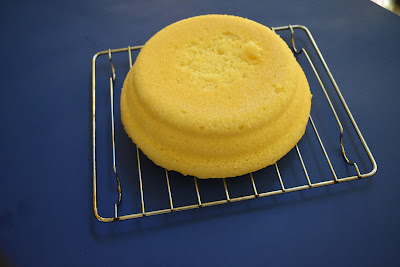 Steamed Lemon Cake Thermomix