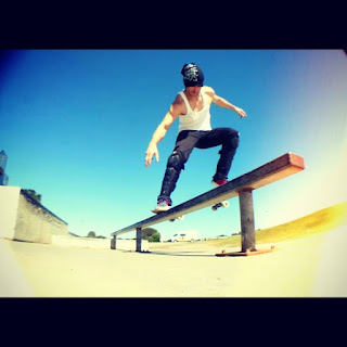 Mark Jansen Skateboarding Adelaide West Beach Rail