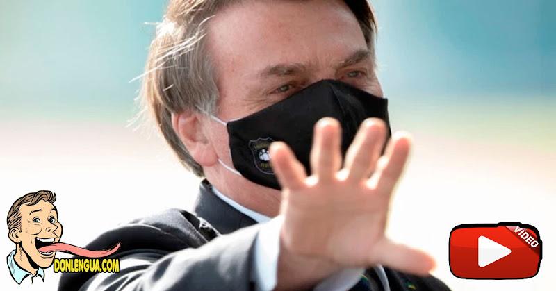 Bolsonaro asegura que se siente muy bien aunque está infectado