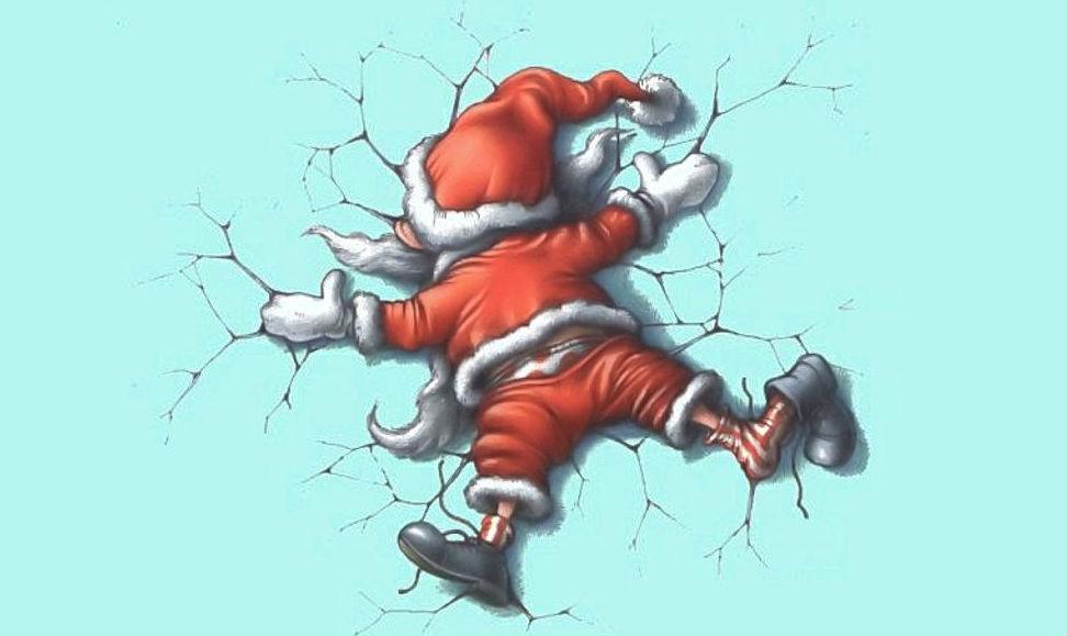 A wszędzie już nastrój świąt...