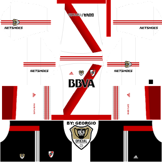baju timnas dream league soccer kits river plate