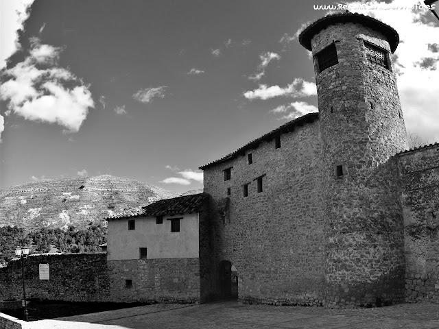 Acceso exterior Portal de las monjas, Mirambel