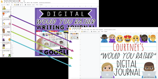 Adding slides to student Google Slides presentations with the Slip-in-Slide Add On