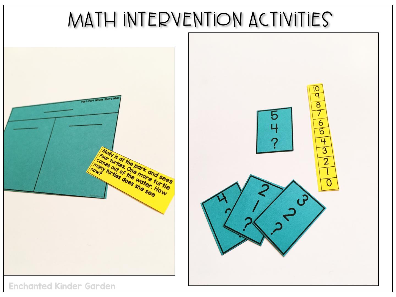 How I master math intervention – Enchanted Kinder Garden