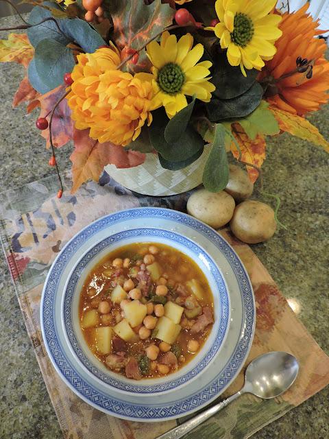Spanish Chickpea (Garbanzo Bean) Soup