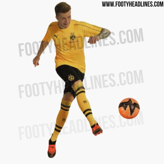 +1. Only the shorts and socks of BVB s 18-19 home kit have been leaked ba617800e