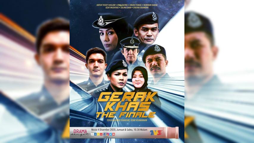 Drama gerak khas the finale