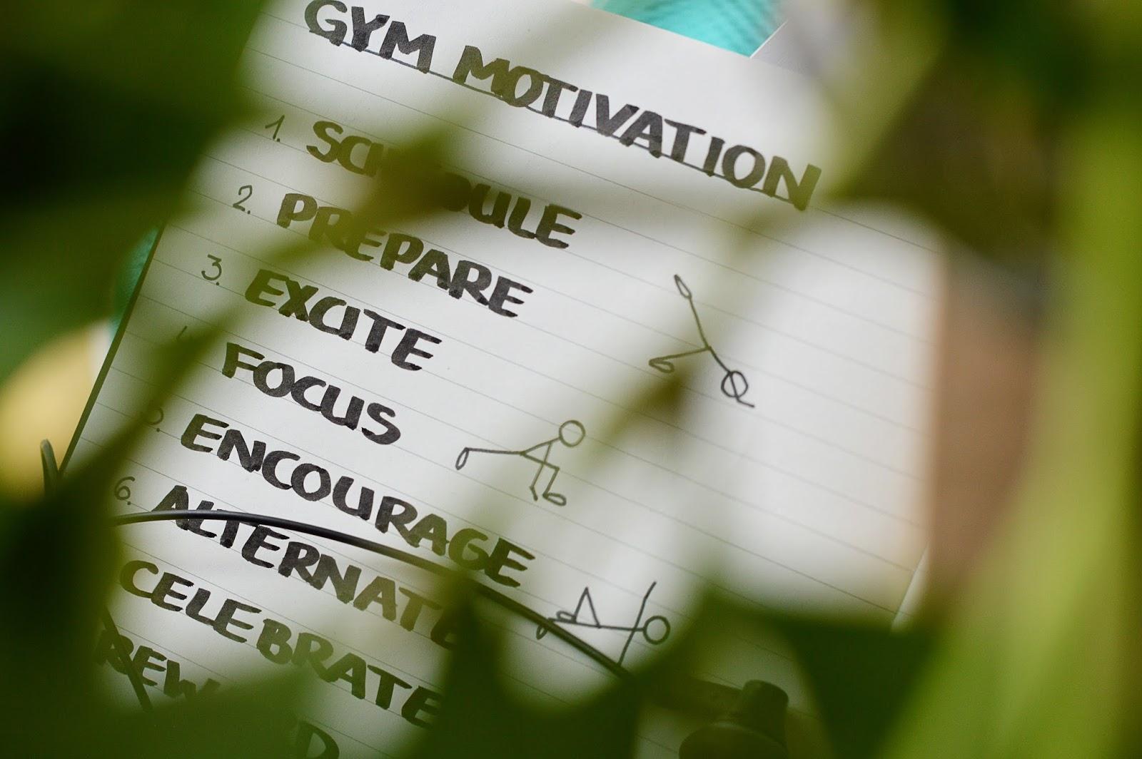 Workout Motivation | Motte's Blog