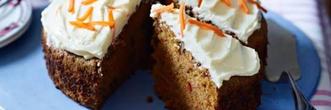 Karottenkuchen wie Großmutter macht