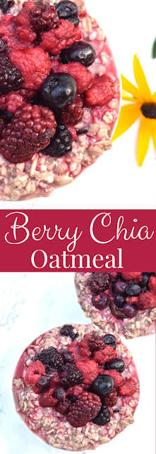 Berry Chia Oatmeal recipe