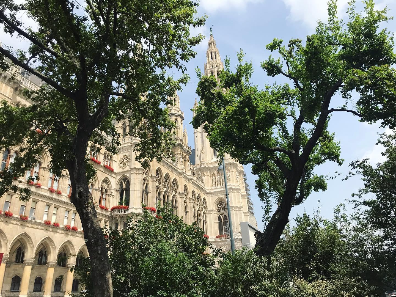 Vienna and Austria Travel Per July 1, Rathaus