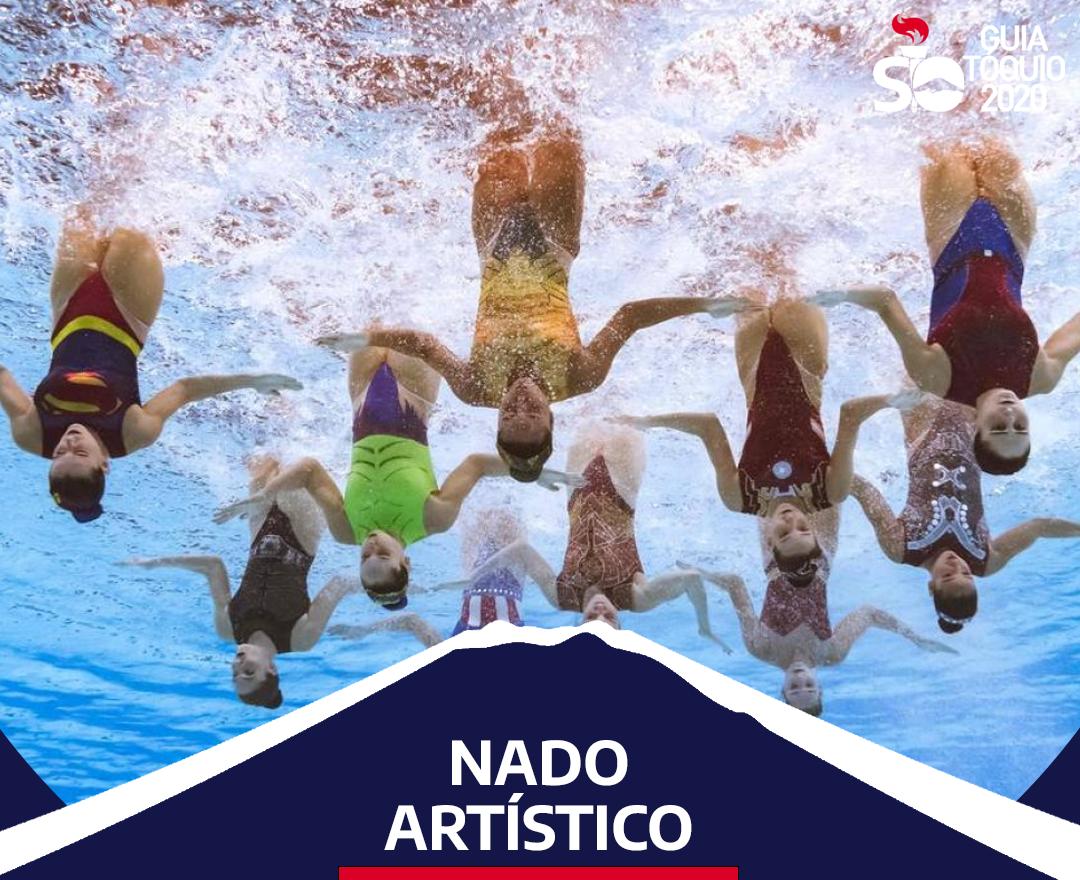 Como funciona o nado artístico em Olimpíadas