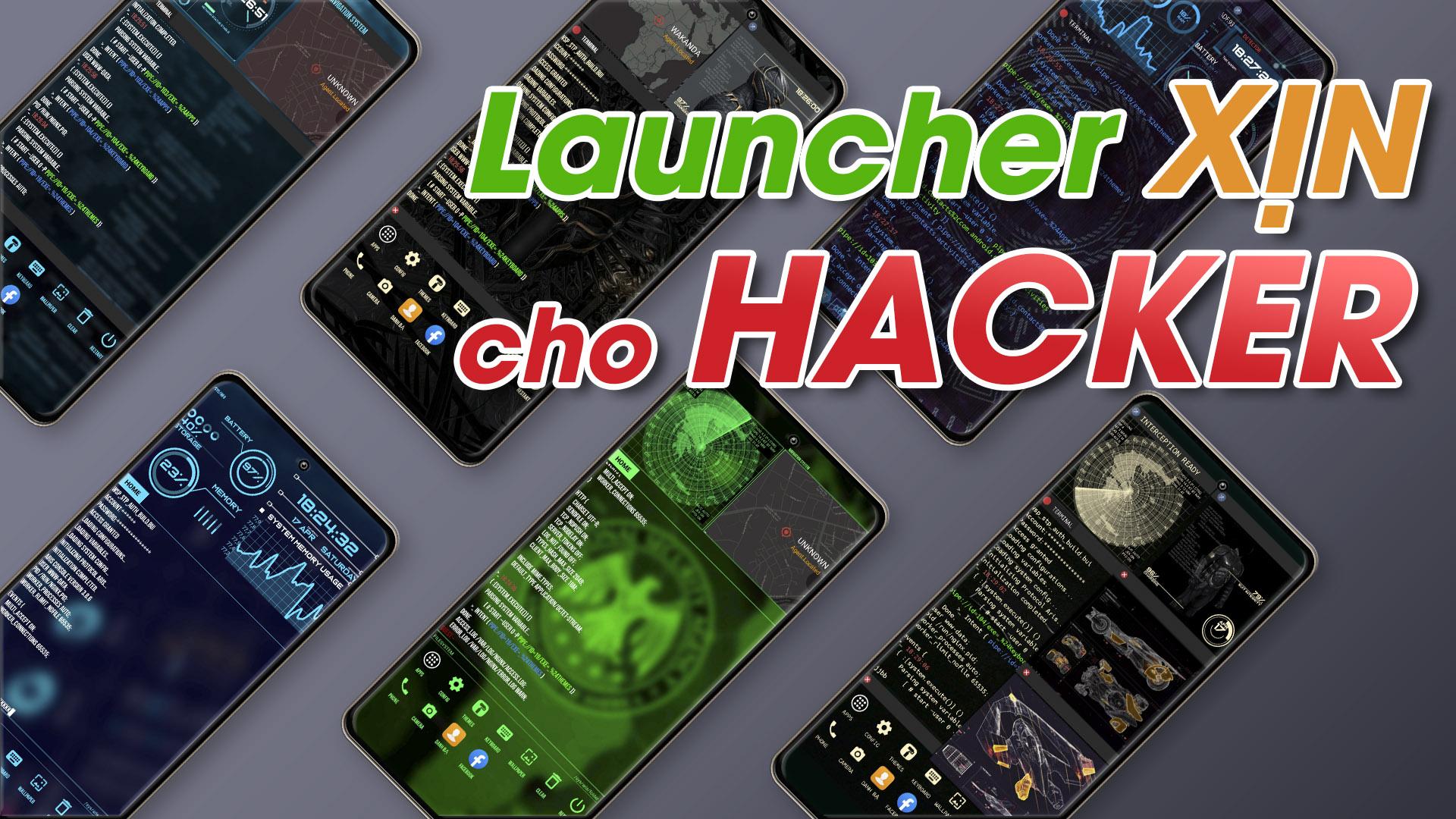 Chia sẻ Launcher tốt nhất Android Siêu Xịn cho dân Pro Công Nghệ 2021