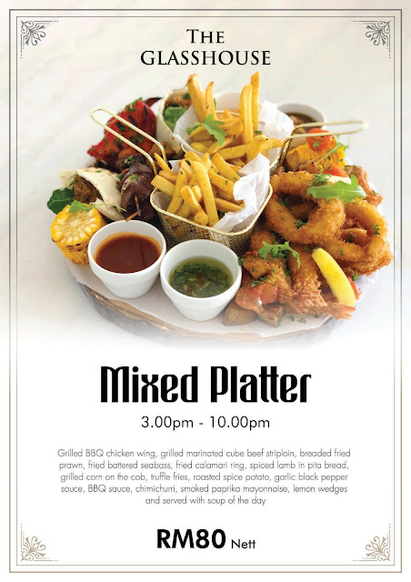The Prestige Hotel Food  The Glasshouse Afternoon Tea Mixed Platter Penang Blogger Influencer
