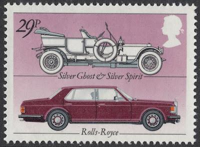Great Britain 1982 Rolls Royce Silver Ghost & Silver Spirit