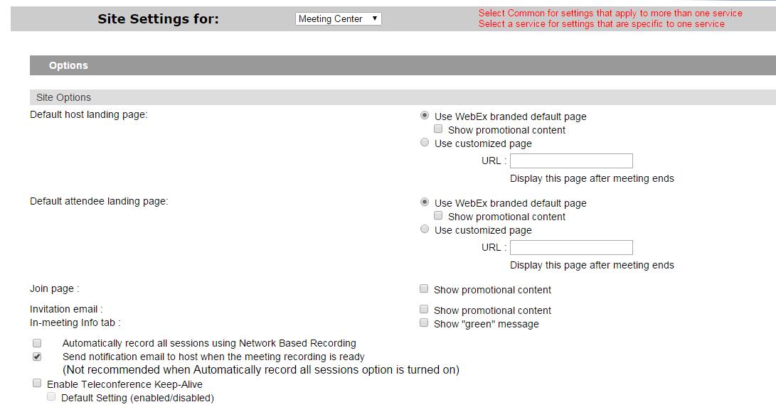 VoIPNorm's Collaboration Blog: WebEx Site Enabling Recording
