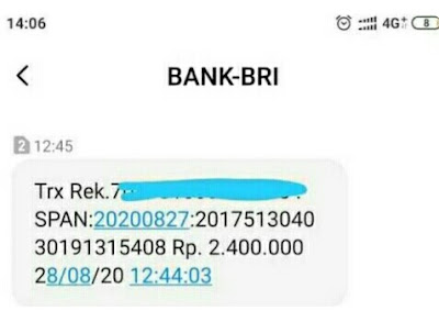 transfer bri ke mandiri syariah lewat sms banking