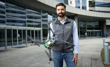 Qualcomm's drone platform supports 5G and AI