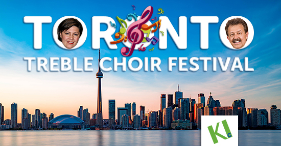 KIconcerts - Toronto Treble Choir Festival 2019 with Zimfira Poloz and Henry Leck