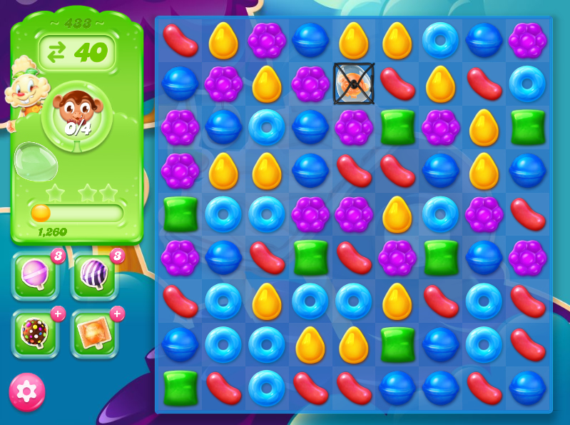 Candy Crush Jelly Saga 433