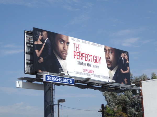 The Perfect Guy movie billboard