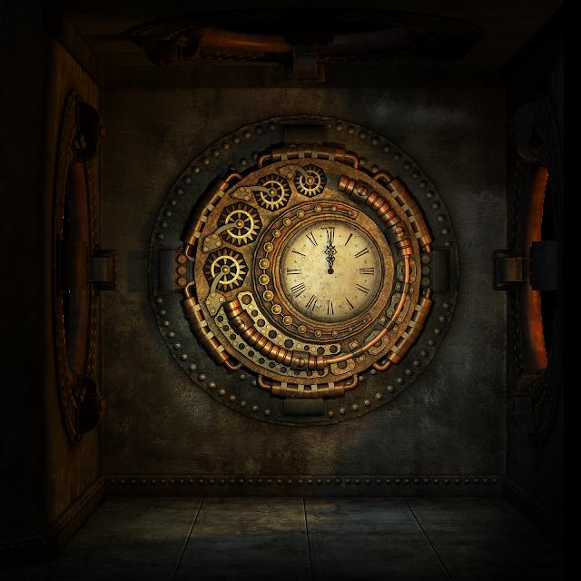 Steampunk-Uhr (pixabay)