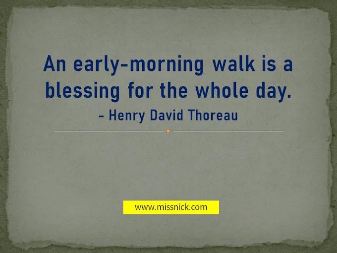5 Manfaat Berjalan Kaki Pada Waktu Pagi