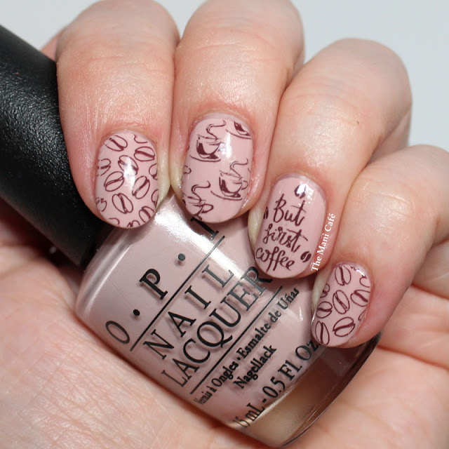 The Mani Café: Coffee Nail Art - Lina Nail Art Supplies, OPI & Girly ...