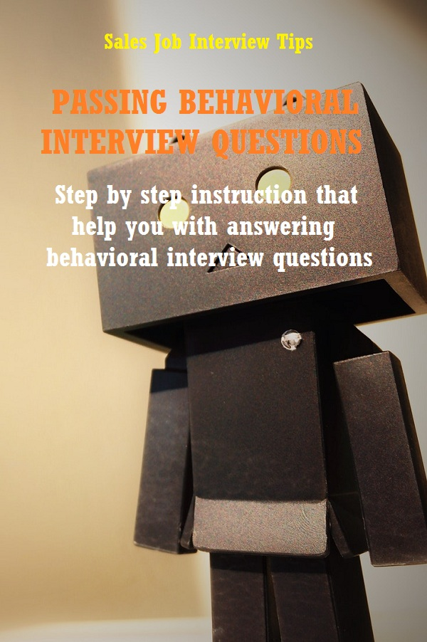 Answering behavioral interview questions