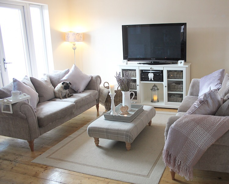 Lilac Love With Laura Ashley - Laura ashley grey living room