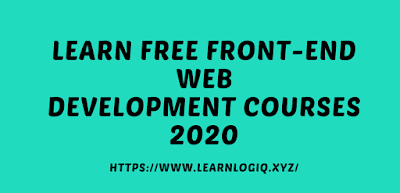 Front-End Web Development Free Courses 2020