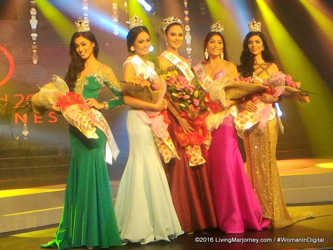 Winners of Miss World Philippines 2016