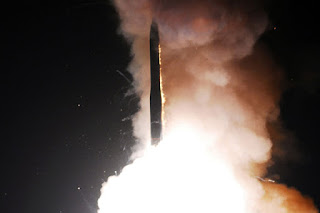 U.S. test firing a second ICBM