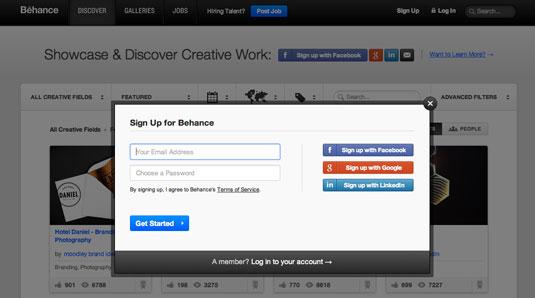 Como crear un portafolio online gratis en Behance   Jhon Urbano