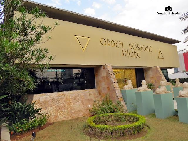 Vista da fachada da Loja Rosacruz São Paulo AMORC - Vila Clementino - São Paulo