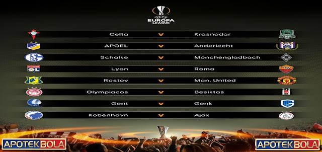 Drawing16 Besar Liga Europa 2016-17