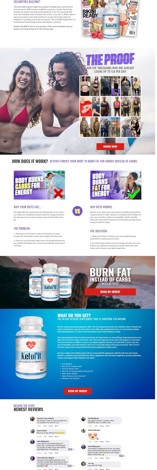 Read All Side Effect Of Keto Fit
