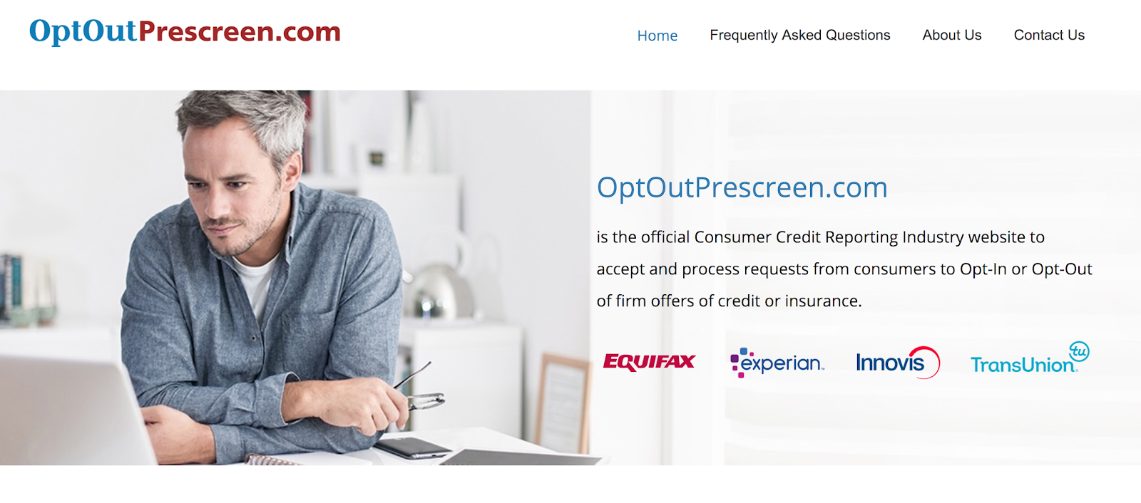 opt out of credit offers junk mail