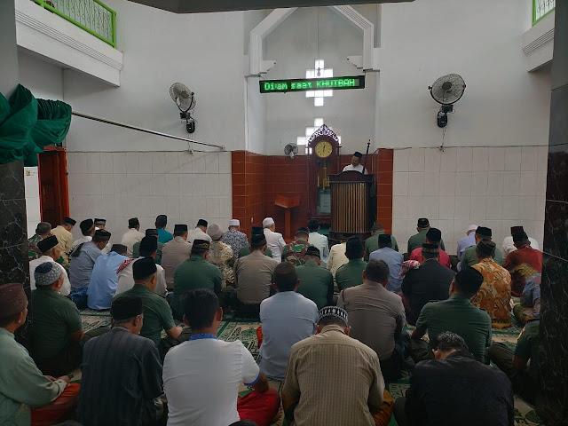 Masjid Ar Rohman Sasaran Safari Shalat Jum'at Dandim 0815/Mojokerto