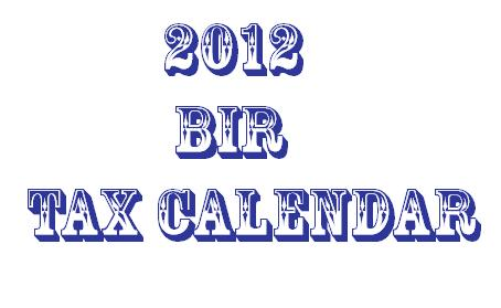 BIR Tax Information, Business Solutions and Professional