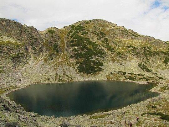Jezioro Alekovo (bułg. Алеково езеро; 2713 m n.p.m.).