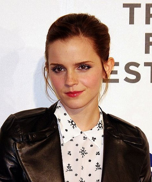Emma Watson's thin eyeliner