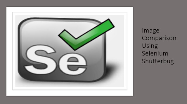 Image Comparison Using Selenium Shutterbug