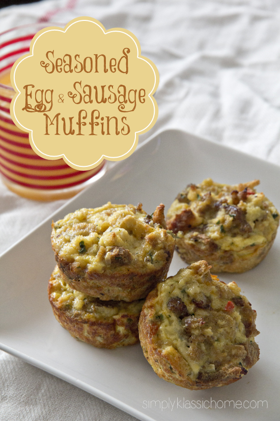 Seasoned Egg Sausage Ins