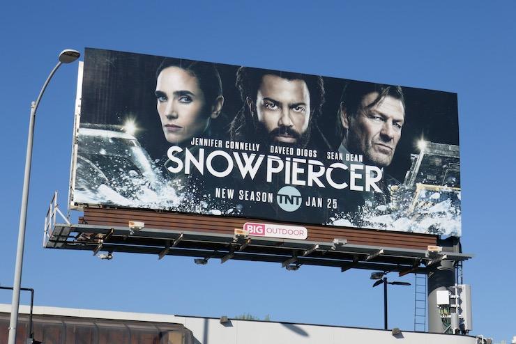 Snowpiercer season 2 billboard