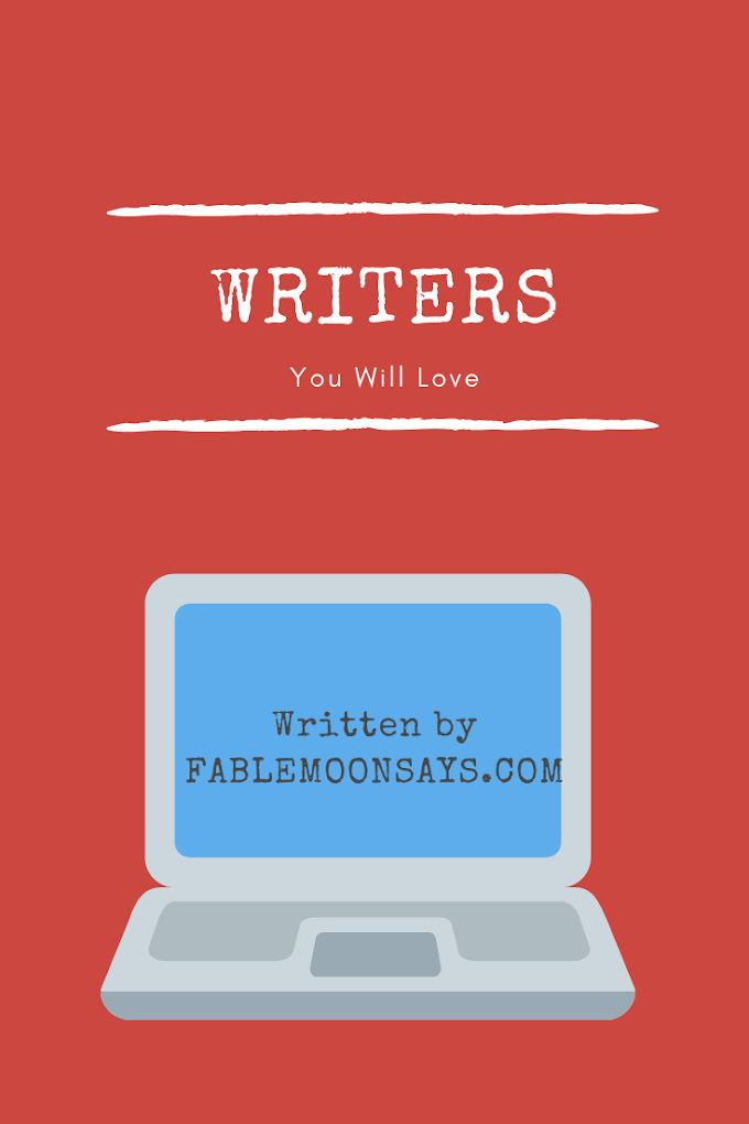 Writers You Will Love