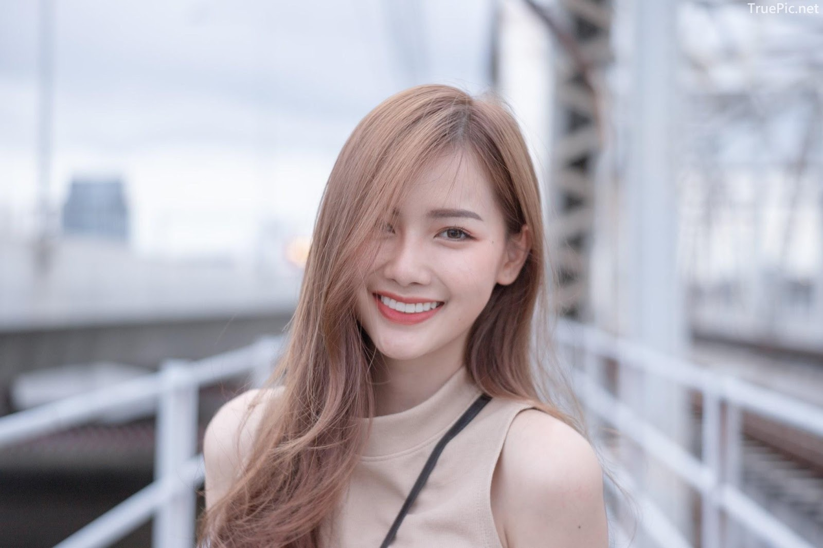 Thailand beautiful model - Pla Kewalin Udomaksorn - A beautiful morning with a cute girl - Picture 8