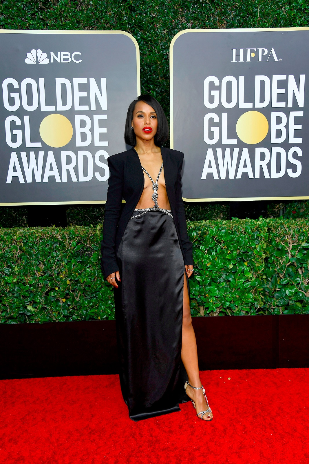 Kerry Washington In Altuzarra – 2020 Golden Globe Awards