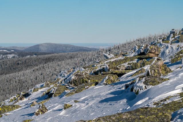 Wanderung auf den Lusen  Winterwandern im Nationalpark Bayerischer Wald 12