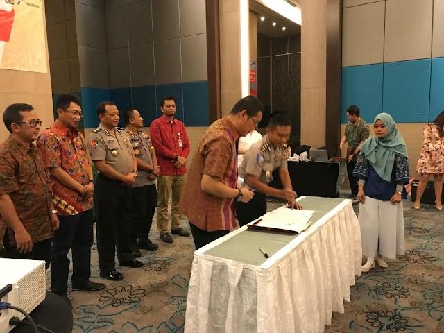 Karolog Polda Banten Hadiri Penandatanganan Kerjasama Dengan Pertamina